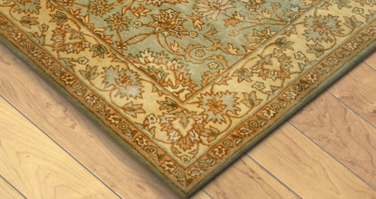 Wood floors with rugs
